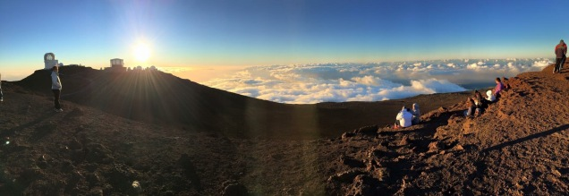 The summit of Haleakala