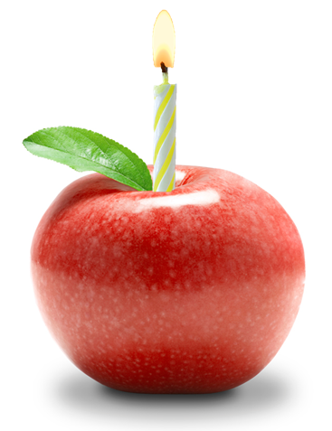 apple-candle